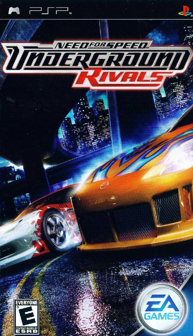 Need For Speed: Underground Rivals for PSP