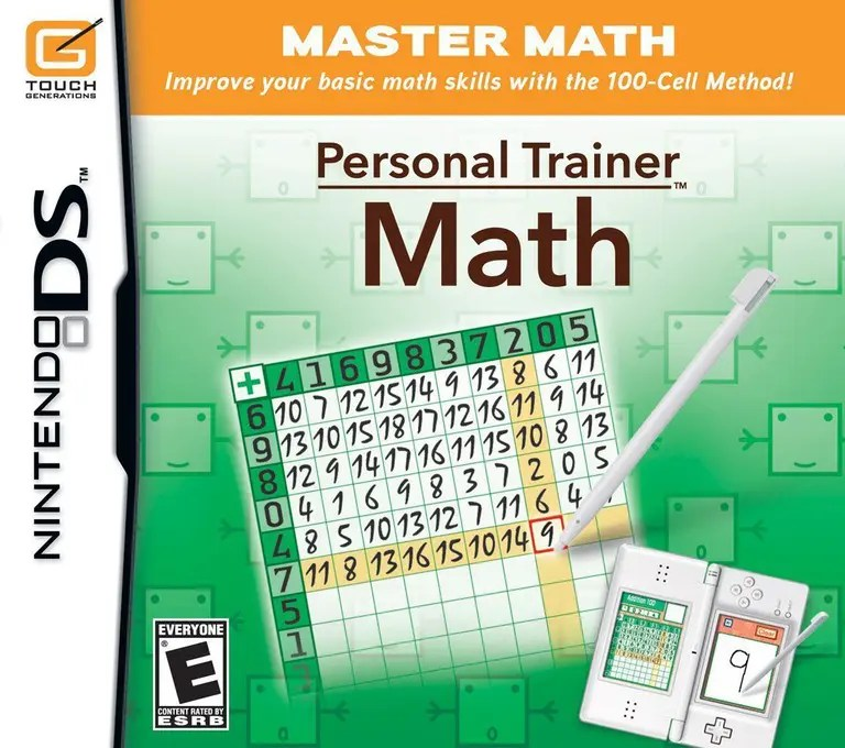 Personal Trainer: Math for Nintendo DS