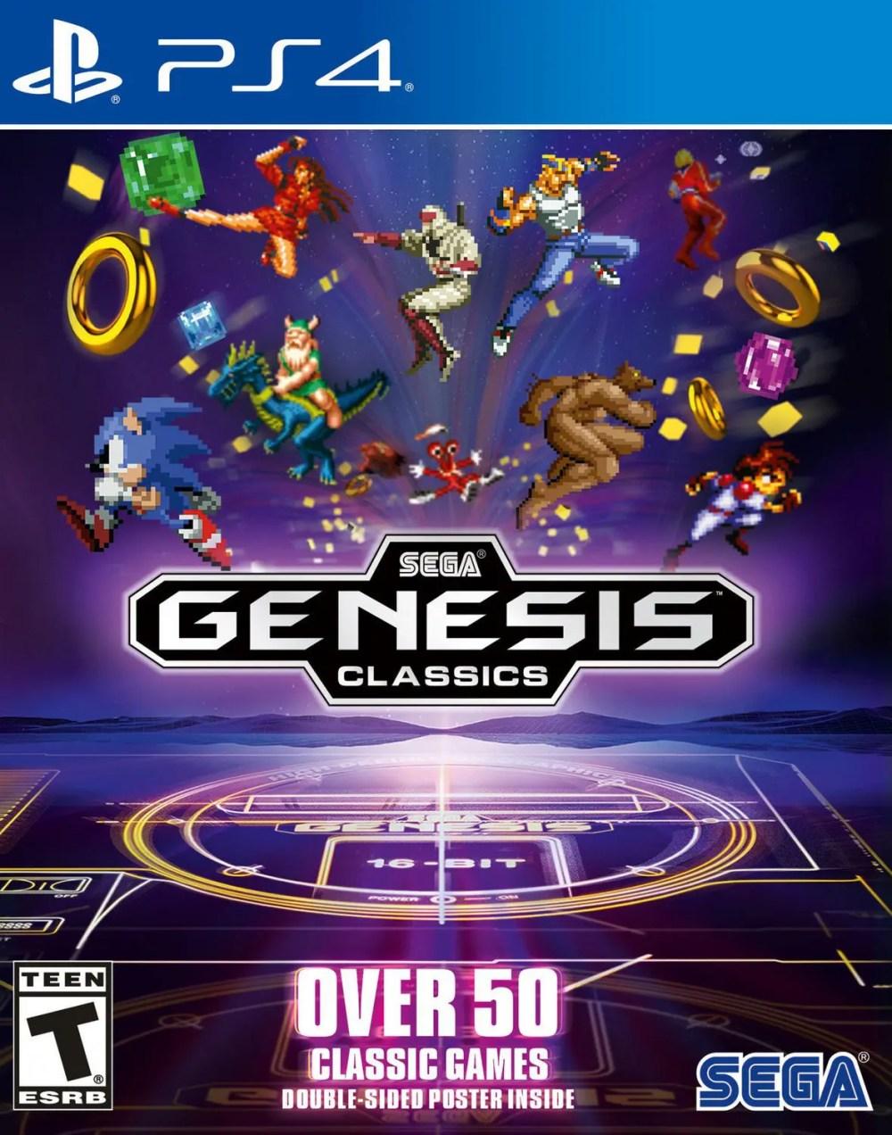 SEGA Genesis Classics for PS4
