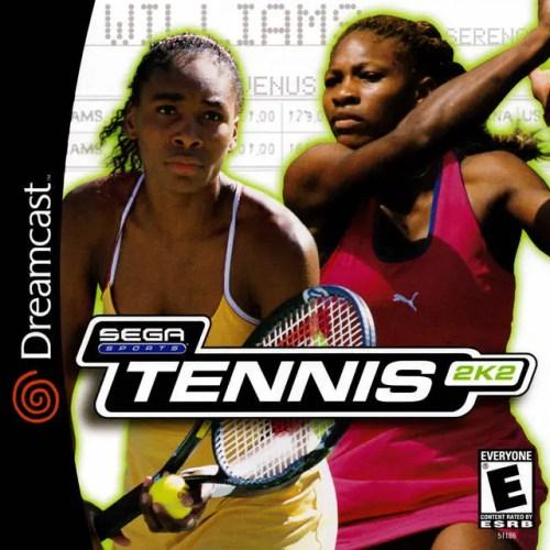 Tennis 2K2 for Sega Dreamcast