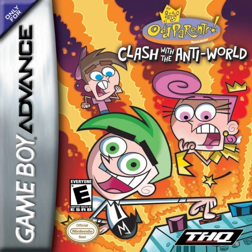The Fairly OddParents: Clash with the Anti-Worlds for Nintendo Game Boy Advance