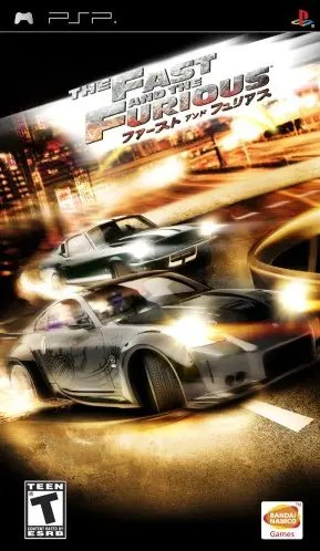 The Fast and the Furious for PSP