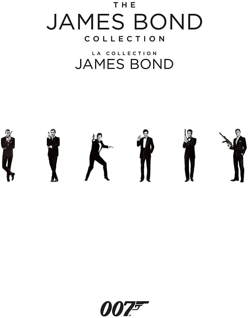 The James Bond Collection Blu-ray Box Set (Bilingual)