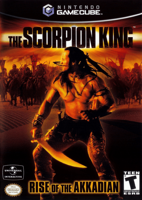 The Scorpion King: Rise of the Akkadian for Nintendo GameCube