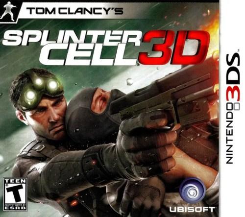 Tom Clancy's Splinter Cell 3D for Nintendo 3DS