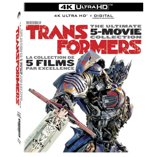Transformers: The Ultimate 5-Movie Collection 4K Ultra HD + Digital Box Set