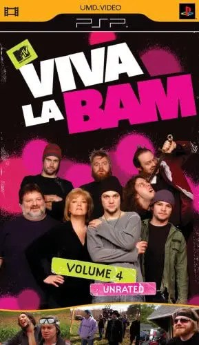 Viva La Bam Volume 4 (Unrated) for PSP UMD Video
