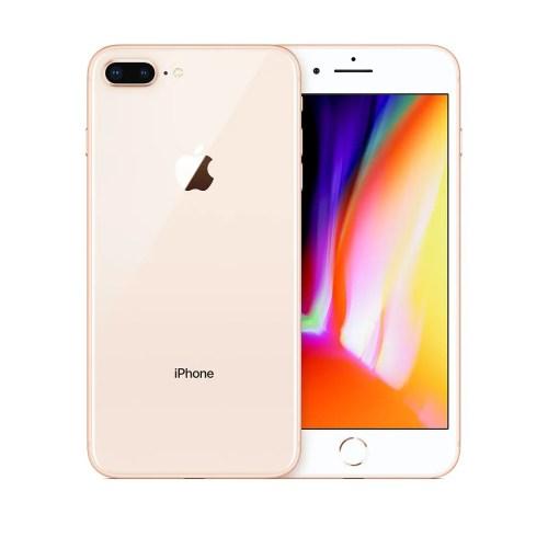 Apple iPhone 8 Plus (256 GB, Gold, Unlocked) (MQ8R2VX/A)