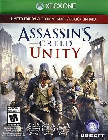 Assassin's Creed Unity (Limited Edition) for Xbox One