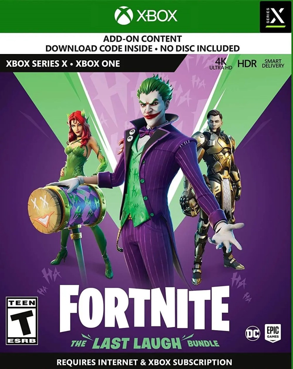 Fortnite: The Last Laugh Bundle for Xbox One