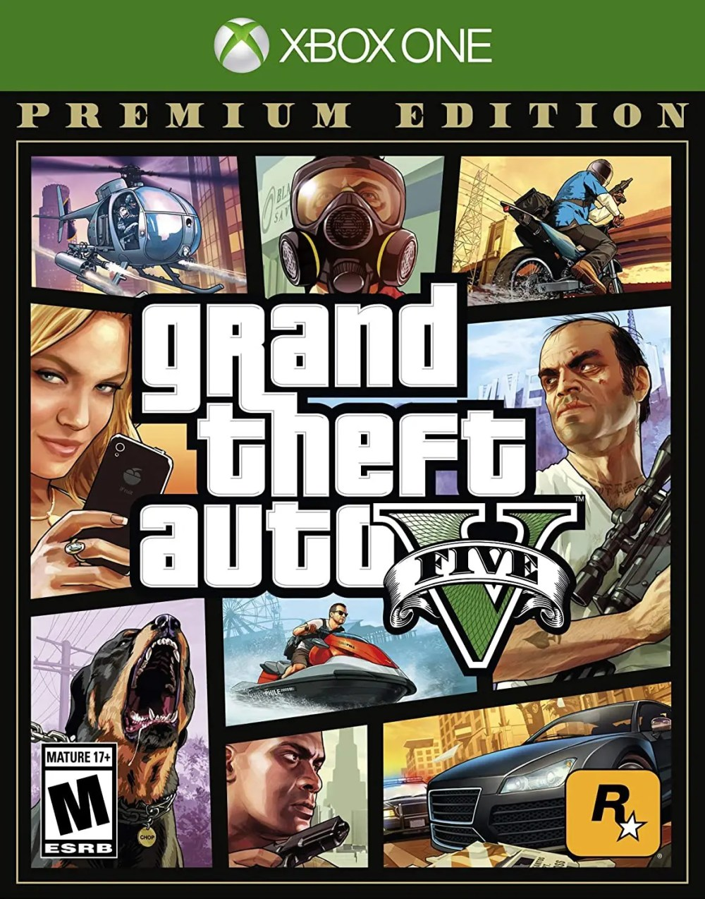 Grand Theft Auto V (Premium Edition) for Xbox One