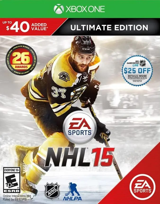 NHL 15 (Ultimate Edition) for Xbox One
