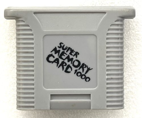 Super Memory Card 1000 for Nintendo 64