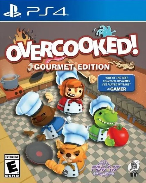 Overcooked (Gourmet Edition) for PS4
