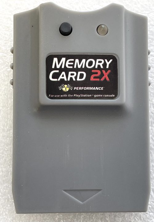 Memory Card 2X for Playstation
