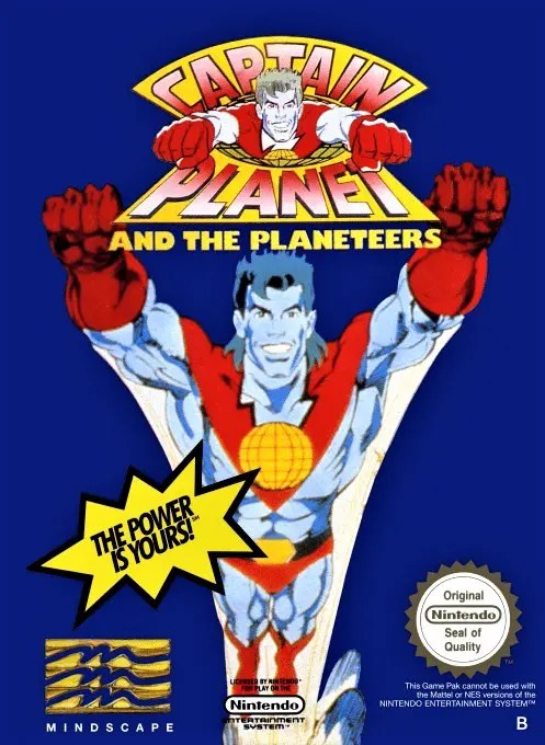 Captain Planet and the Planeteers for Nintendo Entertainment System (NES)