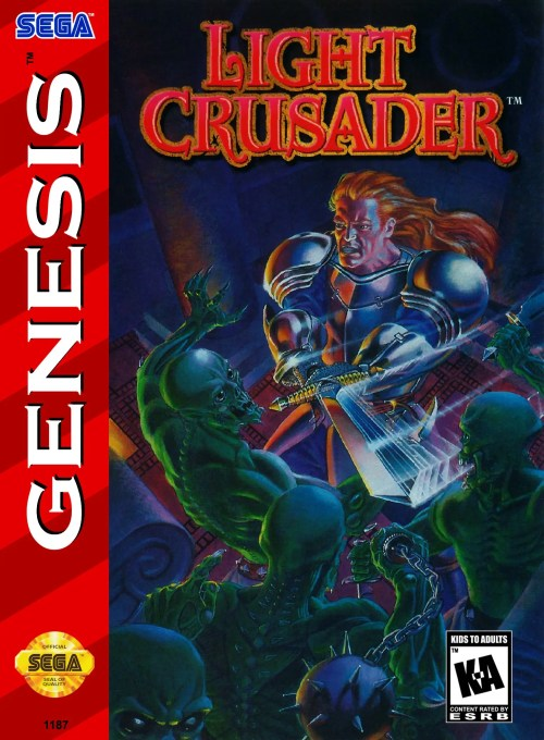Light Crusader for Sega Genesis
