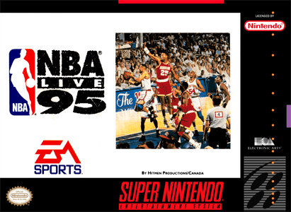NBA Live 95 for Super Nintendo Entertainment System (SNES)