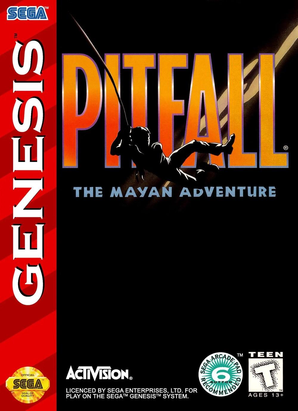 Pitfall: The Mayan Adventure for Sega Genesis