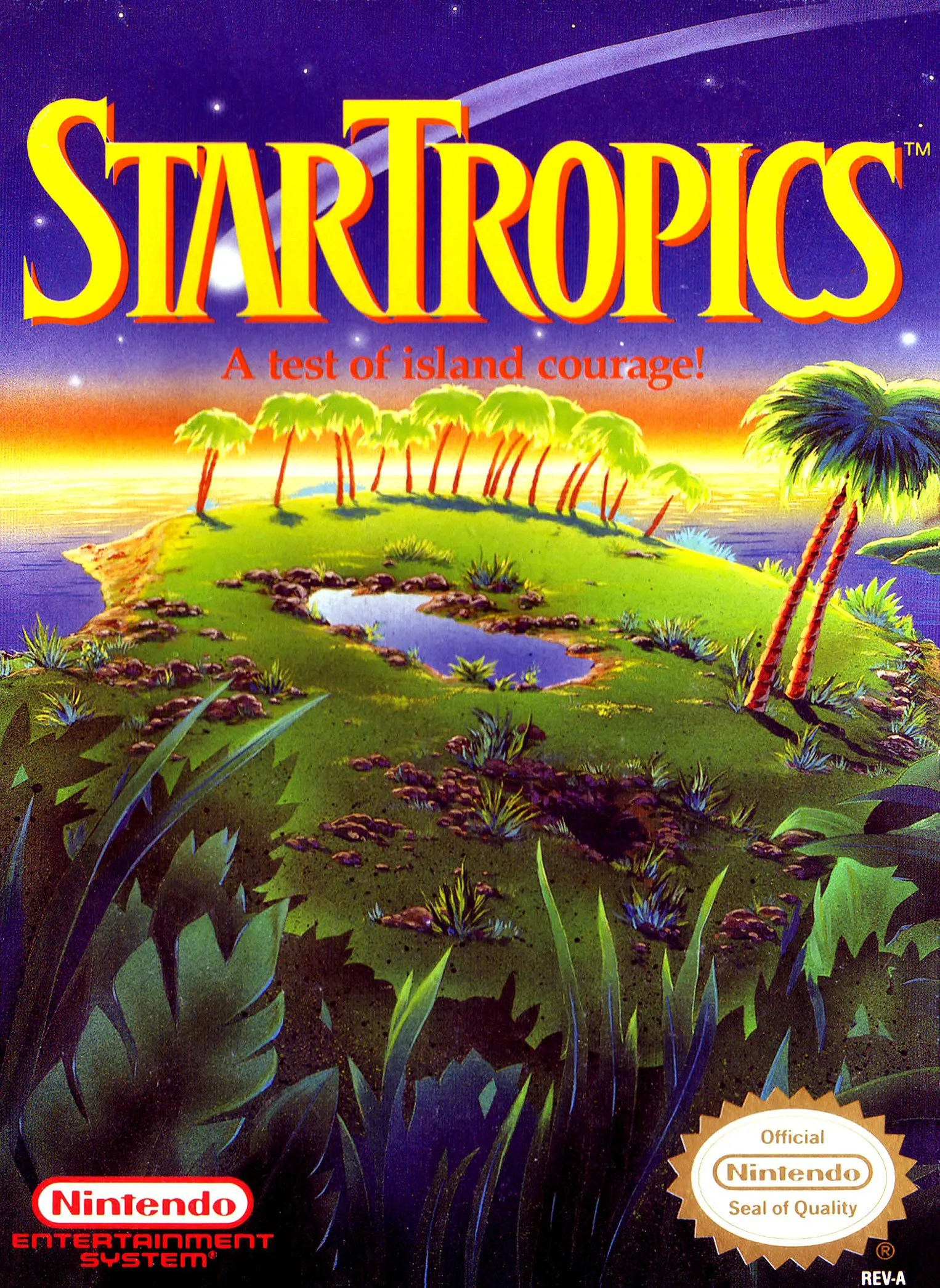 StarTropics for Nintendo Entertainment System (NES)