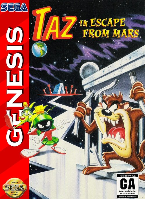 Taz in Escape from Mars for Sega Genesis