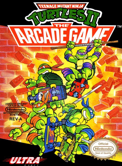 Teenage Mutant Ninja Turtles II: The Arcade Game for Nintendo Entertainment System (NES)