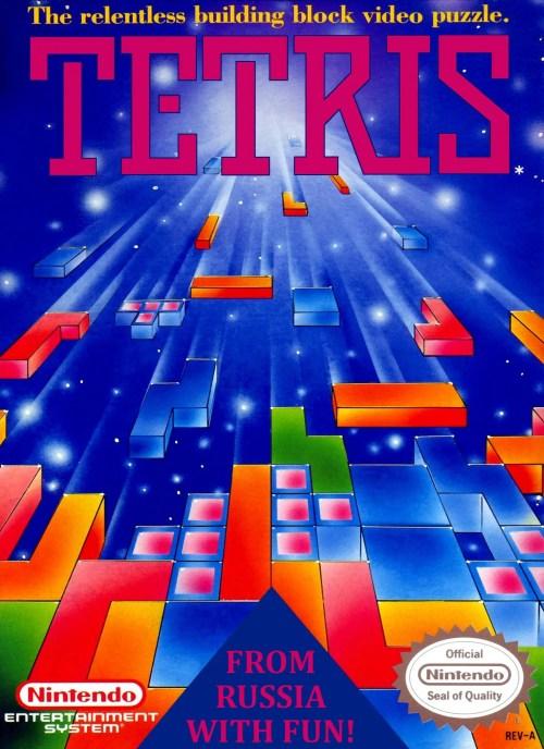 Tetris for Nintendo Entertainment System (NES)