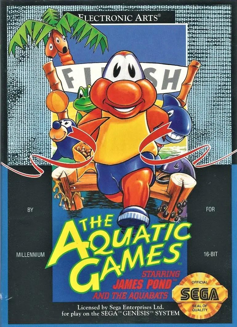 The Aquatic Games for Sega Genesis