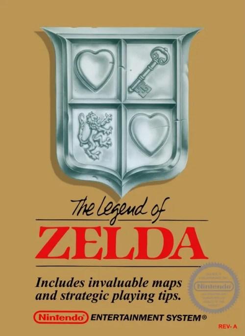 The Legend of Zelda for Nintendo Entertainment System (NES)