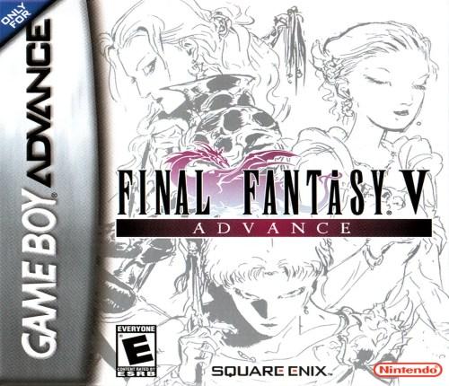 Final Fantasy V for Nintendo Game Boy Advance