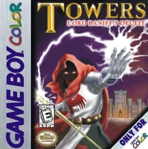 Towers: Lord Baniff's Deceit for Nintendo Game Boy Color