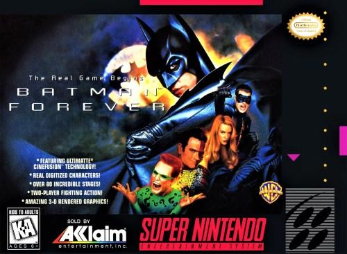 Batman Forever for Super Nintendo Entertainment System (SNES)