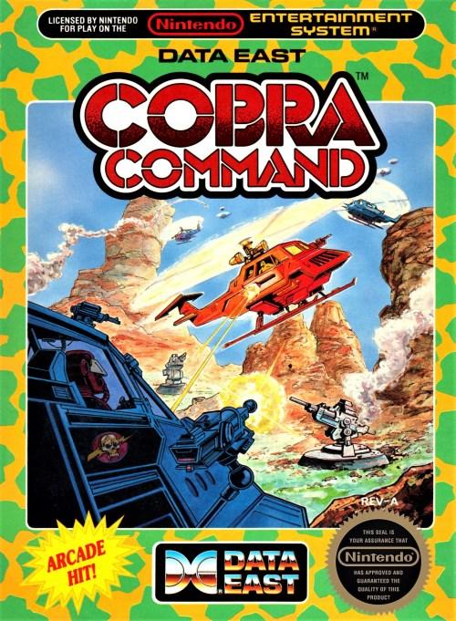 Cobra Command for Nintendo Entertainment System (NES)