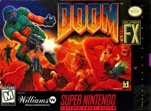 Doom for Super Nintendo Entertainment System (SNES)