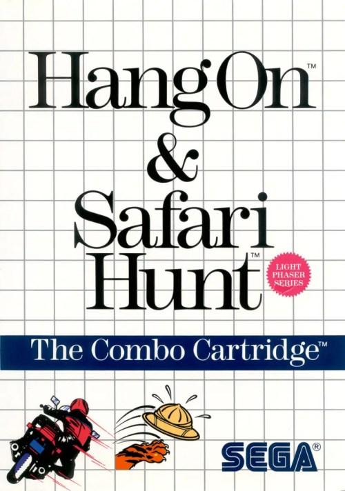 Hang On & Safari Hunt for Sega Master System