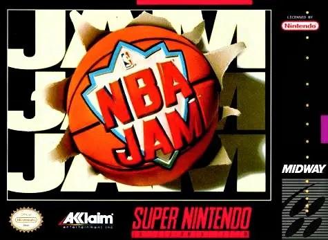 NBA Jam for Super Nintendo Entertainment System (SNES)