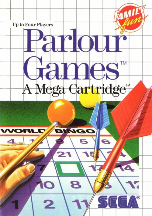Parlour Games for Sega Master System
