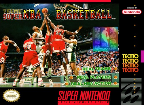 Tecmo Super NBA Basketball for Super Nintendo Entertainment System (SNES)