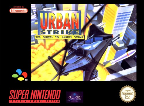 Urban Strike for Super Nintendo Entertainment System (SNES)