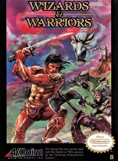 Wizards & Warriors for Nintendo Entertainment System (NES)