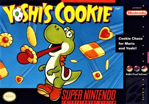 Yoshi's Cookie for Super Nintendo Entertainment System (SNES)