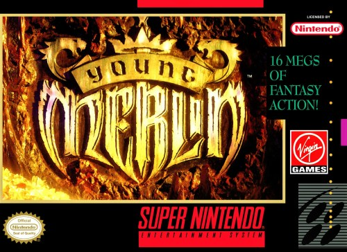 Young Merlin for Super Nintendo Entertainment System (SNES)