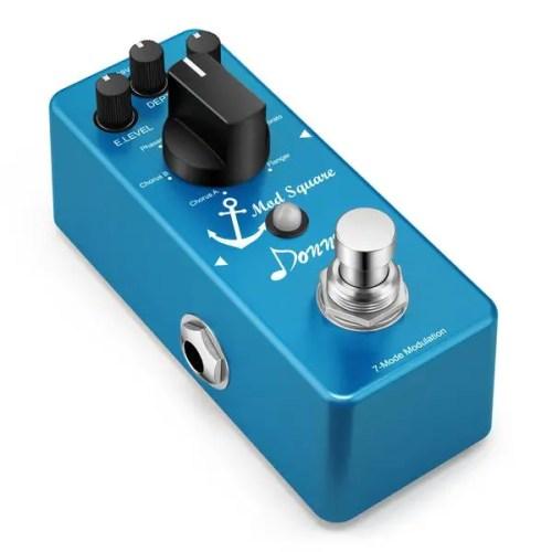 Donner Digital Guitar Modulation Effect Pedal (Mod Square Guitar Effect Pedal with 7 Modes) (EC964)
