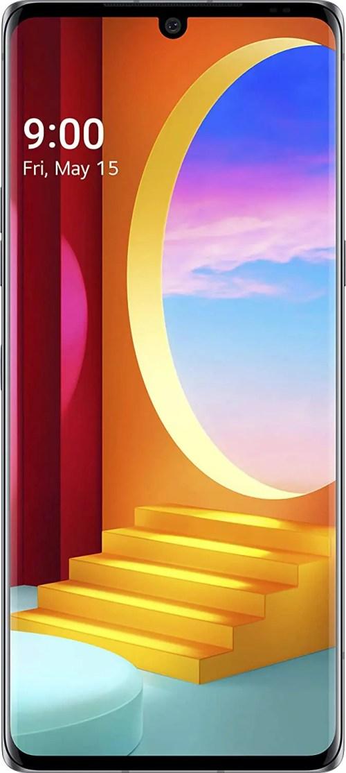 "LG Velvet Smartphone (6.8"", 128 GB, 5G, Aurora Grey, Unlocked) (LM-G900UM)"