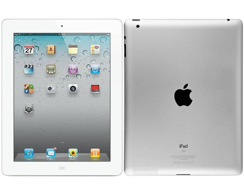 "Apple iPad 4th Generation (9.7"", 16 GB, White, Wi-Fi) (A1458)"