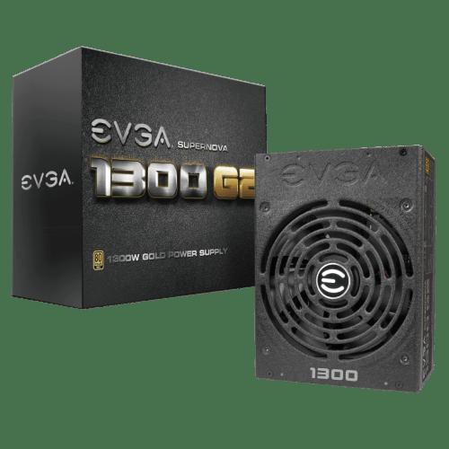 EVGA SuperNOVA 1300 G2 80+ GOLD 1300 W Fully Modular Power Supply (120-G2-1300-XR)
