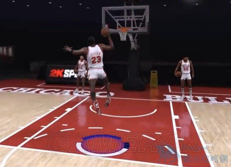 NBA2K17 喬丹罰球線起跳扣籃操作方法 罰球線起跳扣籃怎麼操作 | 蝦米攻略網