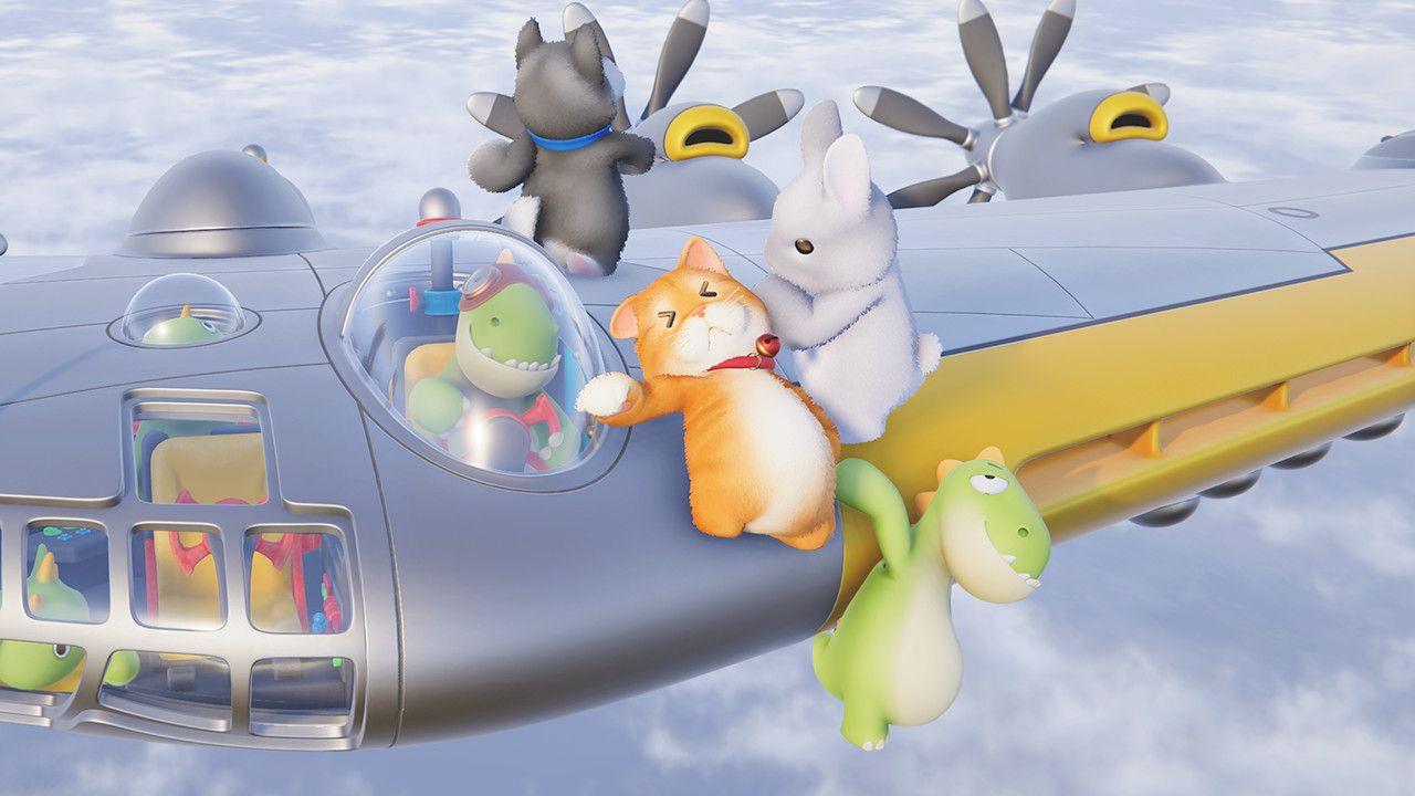 多人派對遊戲《派對動物 Party Animals》Steam 平臺開放免費測試!增加新地圖,角色和武器   蝦米攻略網