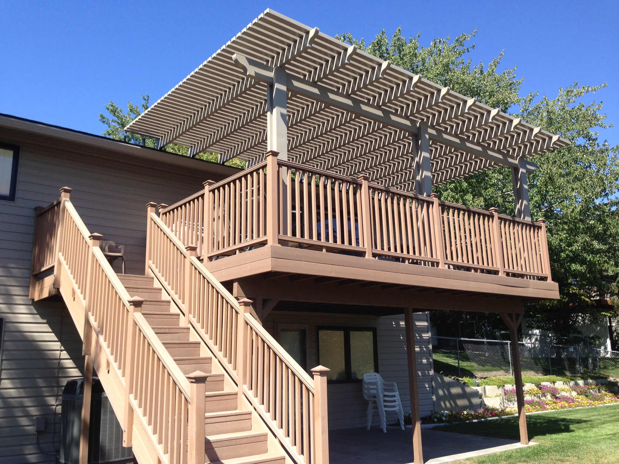 double decker patio covers unlimited nw