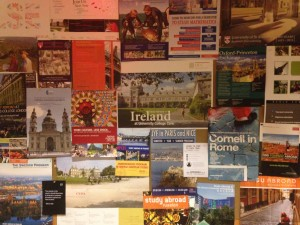 The Office of International Programs helps students make their travel dreams a reality! (Photo credit: Morgan Celistan)